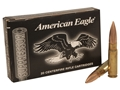 Federal American Eagle Ammunition 300 AAC Blackout 220 Grain Open Tip Match Subsonic Box of 20