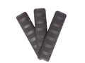 "Troy Industries 6.2"" Length Battle Rail Cover Black Package of 3"