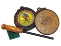 Woods Wise Mystic Slate Plus Crystal 2 x 2 Flipsider Slate/Glass Turkey Call
