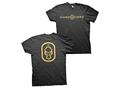 Hard Core Men's Dog Tag T-Shirt Short Sleeve Cotton