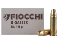 Product detail of Fiocchi Ammunition 8mm Rast-Gasser 126 Grain Full Metal Jacket Box of 50