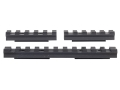 Advanced Technology 3-Piece Accessory Rail Package Fits ATI Strikeforce Stock for Ruger 10/22 Aluminum Black