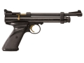 Crosman 2240 Bolt Action CO2 Air Pistol 22 Caliber Pellet Black