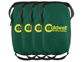 Caldwell Lead Sled Weight Bag Polyester Green Package of 4