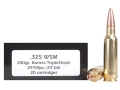 Doubletap Ammunition 325 Winchester Short Magnum (WSM) 200 Grain Barnes Triple-Shock X Bullet Lead-Free Box of 20