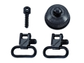 "BlackHawk Lok-Down Sling Swivel Set Remington 870, 870 Youth with Ball Detent 12 Gauge 1"" Steel Blue"