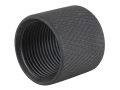 "Schuster Thread Protector Cap AR-10 5/8""-24 Thread Knurled Steel Matte"