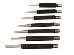 Starrett Center Punch Set 7-Piece Steel