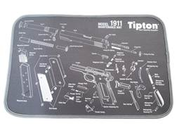 "Tipton 1911 Gun Cleaning and Maintenance Mat 12"" x 24"" Gray"