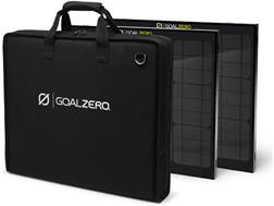 GoalZero Boulder 30 Solar Panel Kit with Carrying Case