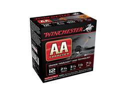"Winchester AA TrAAcker Ammunition 12 Gauge 2-3/4"" 1-1/8 oz #7-1/2 Shot Orange Wad"