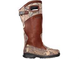"LaCrosse Adder Scent HD 18"" Waterproof Uninsulated Snake Boots Leather and Nylon Brown and Mossy Oak Break-Up Infinity Camo Men's 11 EE- Blemished"