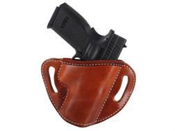 "El Paso Saddlery #88 Street Combat Outside the Waistband Holster Right Hand Springfield XD 9mm, 40 S&W Service 4"" Leather"