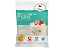 Wise Food Long Term 25 Year 4 Serving Strawberry Mousse Freeze Dried Food