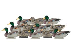 Dakota Decoys X-Treme Weighted Keel Mallard Duck Decoys Pack of 12