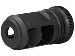 "Advanced Armament Co (AAC) Blackout Muzzle Brake 80-Tooth Cyclops Suppressor Mount Barrett 50 BMG Rifles 7/8""-14 Thread Steel Matte"