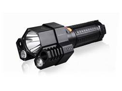 Fenix TK76 Flashlight LED requires 8 CR123A or 4 18650 Rechargeable Batteries Aluminum Black