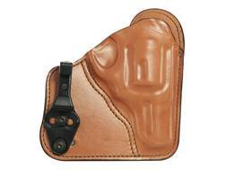 Bianchi 100T Professional Tuckable Inside the Waistband Holster Right Hand S&W J Frame Leather Tan
