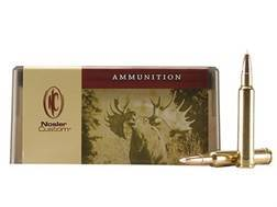 Nosler Custom Ammunition 300 Weatherby Magnum 150 Grain AccuBond Spitzer Box of 20
