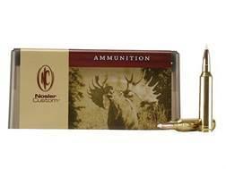 Nosler Custom Ammunition 7mm Remington Magnum 160 Grain AccuBond Spitzer Box of 20