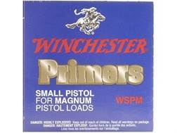 Winchester Small Magnum Pistol Primers #1-1/2M