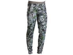 Sitka Gear Men's Merino Base Layer Pants Polyester Gore Optifade Elevated Forest Camo 3XL 46-49