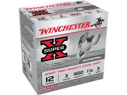 "Winchester Xpert High Velocity Ammunition 12 Gauge 3"" 1-1/16 oz #3 Non-Toxic Steel Shot"