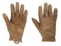 BlackHawk Fury Commando Gloves Leather Nylon and Nomex Coyote Tan Medium