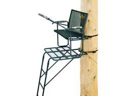 Rivers Edge TwoPlex Comfort Double Ladder Treestand Steel