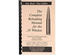 "Loadbooks USA ""35 Whelen"" Reloading Manual"