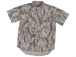 Natural Gear Men's Vented Lightweight Shirt Short Sleeve Polyester Natural Gear Natural Camo Medium 38-40