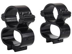 "Millett See-Thru Scope Mount with 1"" Rings 3/8"" Grooved Receiver Gloss"