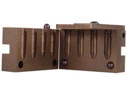 Saeco 4-Cavity Bullet Mold #071 284 Caliber, 7mm (285 Diameter) 160 Grain Truncated Cone Gas Check