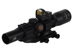 Burris Fullfield TAC30 Rifle Scope 30mm Tube 1-4x 24mm 1/2 MOA Adj Illuminated Ballistic CQ Retic...