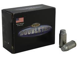 Doubletap Ammunition 45 ACP +P 255 Grain Keith Semi-Wadcutter Hard Cast Box of 20