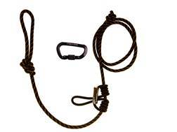 Muddy Outdoors Lineman's Rope with 2 Carabiners