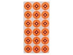 "Caldwell Target  Spots 1"" Pack of 12 Sheets 18 Spots per Sheet Orange"