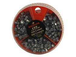 Winchester Dial a Pellet Airgun Pellets 177 Caliber 7.29 Grain (100 Flat, 100 Pointed and 100 Hollow Point)