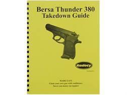 "Radocy Takedown Guide ""Bersa Thunder 380"""
