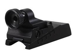 Williams WGRS-54 Guide Receiver Peep Sight Savage-Anschutz 54, 141, 141M, 153, 153S, Remington 541S, Winchester 310, 320, 9422, Most 22 Caliber Dovetail Receivers Aluminum Black