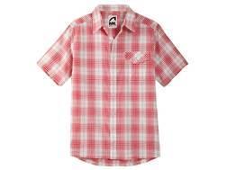 Mountain Khakis Men's Shoreline Shirt Short Sleeve Cotton Ripstop Multi