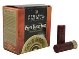 """Federal Premium Gold Medal Paper Ammunition 12 Gauge 2-3/4"""" 1-1/8 oz #7-1/2 Shot"""