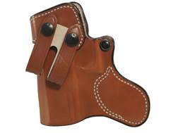 DeSantis Inner Piece Inside the Waistband Holster Left Hand Glock 19, 23, 32, 36 Leather Tan