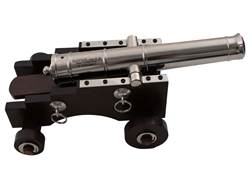 "Traditions Mini Old Ironsides Black Powder Cannon Kit 50 Caliber 9"" Steel Barrel Hardwood Carriage"