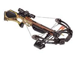 Barnett Ghost 385 CRT Crossbow Package with 3x 32mm Multi-Reticle Scope Realtree APG Camo