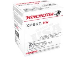 Winchester Xpert Ammunition 22 Long Rifle 36 Grain Lead Hollow Point Box of 500