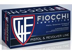 Fiocchi Shooting Dynamics Ammunition 357 Magnum 125 Grain Semi-Jacketed Hollow Point Box of 50