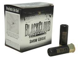 "Federal Premium Black Cloud Snow Goose Ammunition 12 Gauge 3"" 1-1/8 oz #2 Non-Toxic FlightStopper Steel Shot"