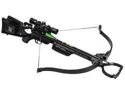 TenPoint GT Flex Recurve Crossbow Package with 3X Multi-Line Scope and ACUdraw Black