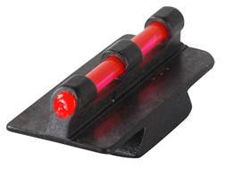 "Williams Fire Sight Rifle Bead .250"" Height, .340"" Width Steel Blue 3/32"" Fiber Optic Red - Blemished"